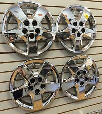 "NEW 2008 CHEVROLET MALIBU 16"" Bolt-on Hubcap Wheelcover SET of 4 CHROME"