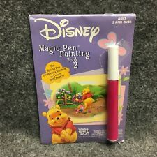 Disney Winnie The Pooh Book 2 Magic Pen Painting Activity Book NEW