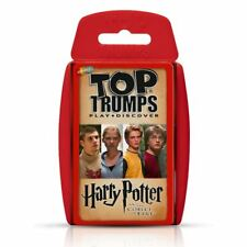 Top TRUMPS X2 Specials Harry Potter & Goblet of Fire Ashes 2005 Limited