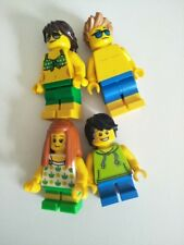 BN Lego 4x City minifigure family beach holiday mum dad girl boy mini figure