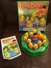 Lucky Ducks Sesame Street Edition Game COMPLETE! WORKS! Match Shapes & Colors