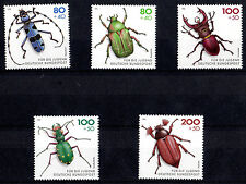 GERMANIA 1993 Insetti 5 Stamps Bundespost insects Unificato 1498-502 SG 2511-15