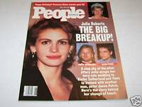 JULY 1 1991 PEOPLE magazine JULIA ROBERTS