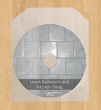 Learn DIY Bathroom Kitchen Tiling Wall Floor Tiles DVD Disc Ceramic Slate Stone