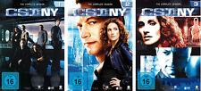 18 DVDs * CSI : NY - NEW YORK -  STAFFEL / SEASON 1 - 3 IM SET  # NEU OVP §