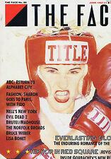 ABC / BRUCE WEBER / LISA BONET / SAM RAIMIFace MagazineNo.86June1987
