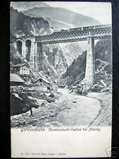 Switzerland~Gotthardbahn. Kerstelenbach-Viaduct Amsteg