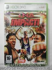 Jeu TNA IMPACT wrestling xbox 360 microsoft game francais action catch spiel