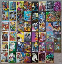 Lot of 47 Different COMIC BOOK Related Trading Cards - 1990-2008 - PROMO