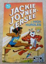 Jackie Joyner-Kersee in High Hurdles 1992 Comic Book Sports Illustrated Promo