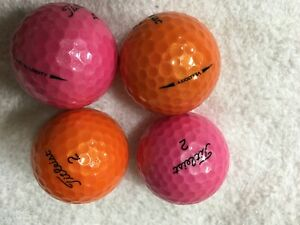 35 Titleist Velocity 16 Orange / 19 Pink Mixed color 5A(AAAAA)Golf Balls