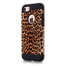 Shockproof Hybrid High Impact  Rubber Armor Case Cover For iPhone 5/6/7 7Plus 6s