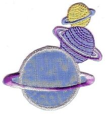 Uranus Neptune Saturn Planets Embroidery Patch