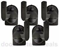 Universal Bose Jewel Cube Speaker Wall Mount Stand Bracket 5 Pack Black US Ship