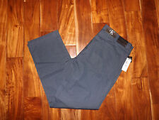 NWT Mens Calvin Klein Dress Blues Slacks Chinos Pants 34 W 32 L