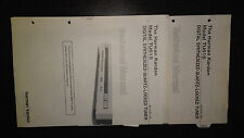 harman kardon tu615 service manual stereo radio tuner original 2 books