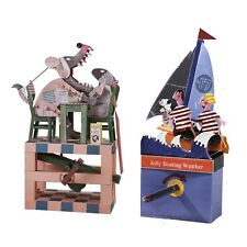 Automata Paper Machine Model Combo Kit – Having Dinner with a Wolf + Jolly Bo...