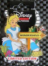 Disney DSSH - Sign Post Series - Wonderland - Alice Pin