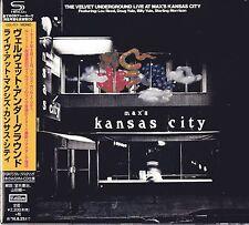 VELVET UNDERGROUND-LIVE AT MAX`S KANSAS CITY-JAPAN SHM-CD F04