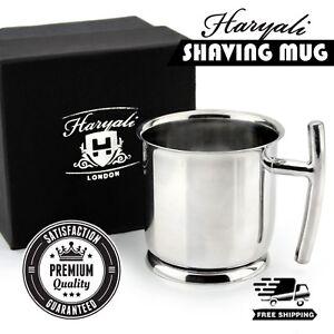 Unisex Medical Grade Stainless Steel Shaving Mug Perfect for Men Salon Shave