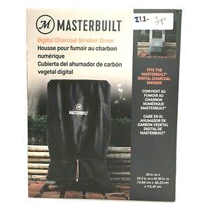 Masterbuilt Smoker Cover MB20080321, Elastic Closure, Black