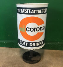 More details for vintage corona soft drinks bin 1950/60 retro. courier available