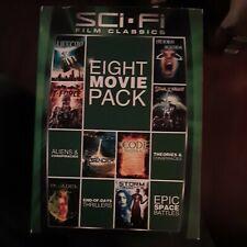 Sci-Fi film classiics 8 movie 2 Dvd Pack