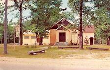 Houghton Lake Michigan~All Saints Episcopal Church~1959 Postcard