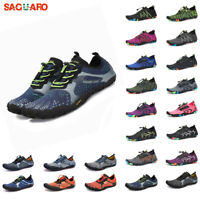 SAGUARO Men Women Water Shoes for Aqua Diving Swim Surf Socks Barefoot Sport US