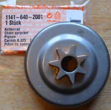 "Genuine OEM Stihl Spur Sprocket MS261 MS271 MS291 1141 640 2001 .325"" 7T Tracked"