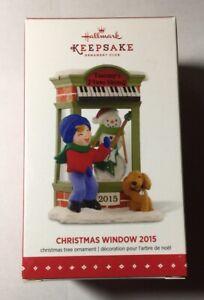 Hallmark Keepsake Ornament Christmas Window Series 13th Ornament 2015