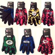 Licensed Team Color Camouflage Camo Utility Work Grip Gloves