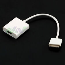 For Apple iPad2/3 iPhone 4s KN Digital AV Adapter 30Pin Dock Connector To HDMI