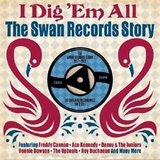 I Dig 'Em All-Swan Records Story 1957-1962 2-CD NEW SEALED Freddy Cannon/Upbeats