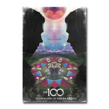 New The 100 Hot TV Series Show 2019 Horror Movie T-518 Silk Fabric Poster