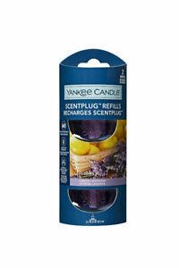 6 x Yankee Candle Scent Plug Twin Pack Fragrance Refills-Lemon Lavender