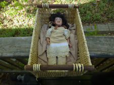 "S. F. B. J. 236 Doll Paris 14""  with crib"