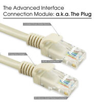 [3-Pack] CAT5E 6FT Ethernet Internet Network Patch Lan CAT5 RJ45 Cable Cord Grey