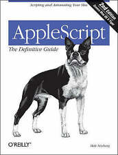 AppleScript: The Definitive Guide by Matt Neuberg (Paperback, 2006)