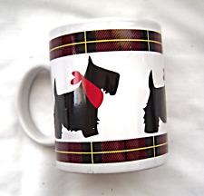 Scotty Dog Mug Red White & Black Ceramic Mug by Scottie Dept. 56
