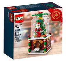 Santa Christmas Snowglobe Home Construction Toys Kit's Games Lego Play Gift up 7