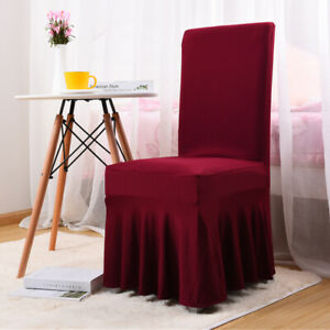 Stretch Dining Chair Cover Slipcover Seat Cover Cushion Wedding Decor Cover I