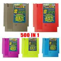 Cartouche 500 IN1 Super Games Collection pour consoles jeux NES Classic NTSC PAL