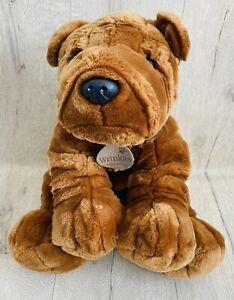 """Keel Sharpei Shar Pei Wrinkles Wrinkly Dog Soft Toy Plush Cuddly Large 12"""" X 15"""""""