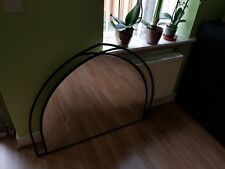 Large Arch Black Metal Mirror 110 cm Wide x 90 cm High