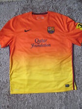 FC Barcelona XXL 2012/2013 Kit De Fútbol Camiseta Nike Padres Día Regalo Pops 60
