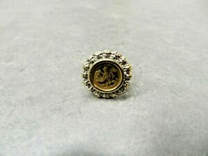 10k Panda Ring (copy) Size 7 1/2