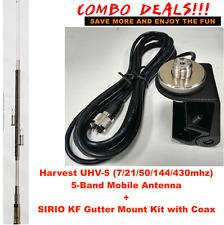 Harvest UHV-5 HF/VHF/UHF (7/21/50/144/430M) 5-band Mobile Antenna