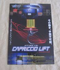 2001 Taito Capriccio Lift Arcade Flyer