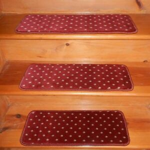 14 Step 9'' x 28''  1 Landing  28'' x 30'' Tufted Wool Woven carpet Stair Treads